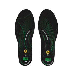 SJ HYBRID Insole with SJ-3FIT Technology by Safety Jogger