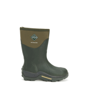 Unisex Muckmaster Mid Short Muck Boots in Moss Green