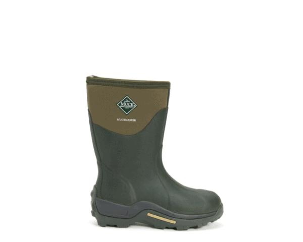 Unisex Muckmaster Mid Muck Boots in Moss