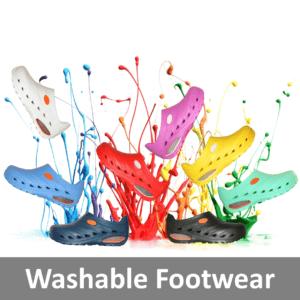 Washable Footwear
